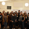 The interns with guest speaker, Winona LaDuke in January 2018.